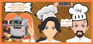 Robotcream per il pastry chef