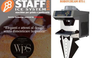 Staff Ice System al WPS 2018: per la tua pasticceria scegli Robotcream!