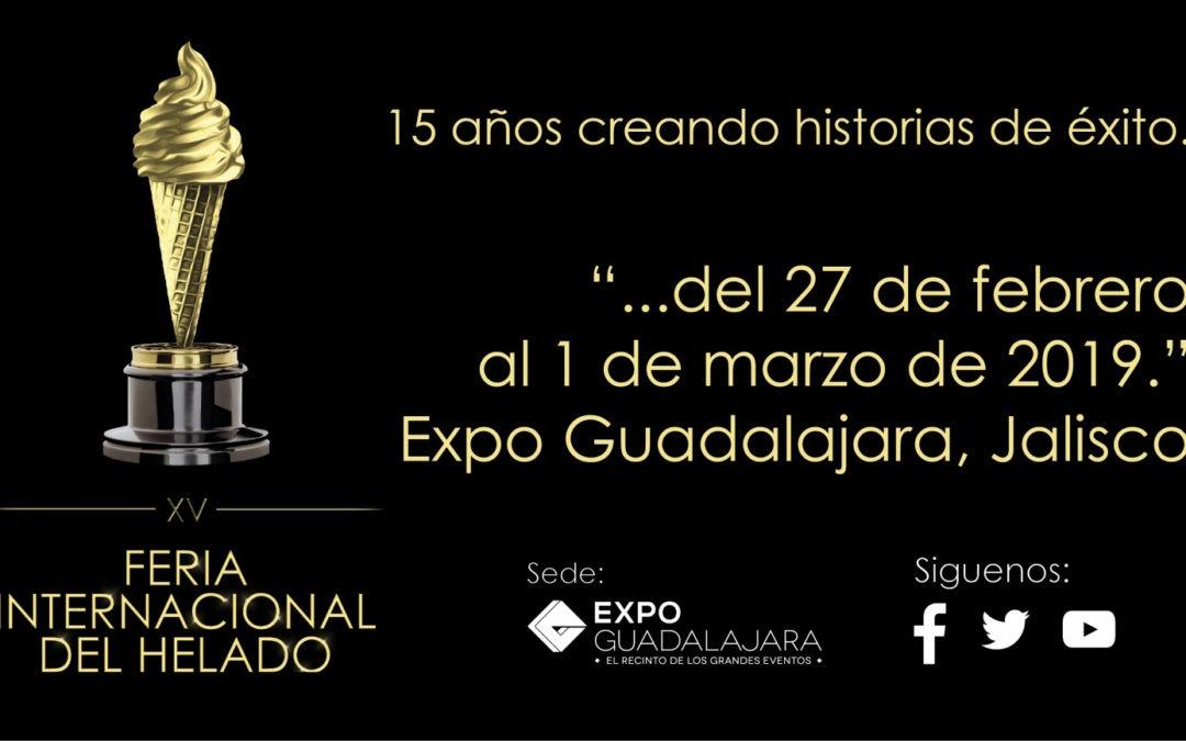 FIERA INTERNACIONAL DEL HELADO – GUADALAJARA 2019