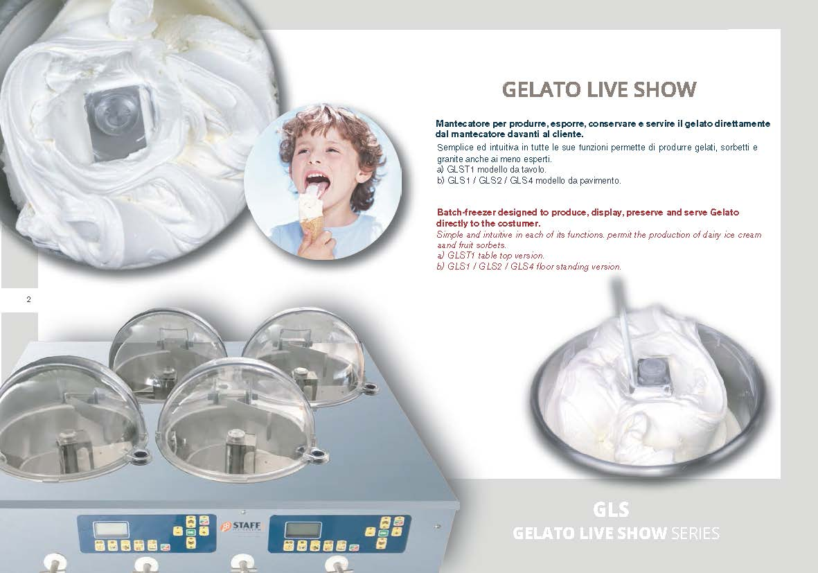 Gelato Live Show - qualità massima 2