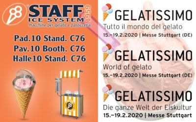 Gelatissimo 2020 Messe Stuttgart
